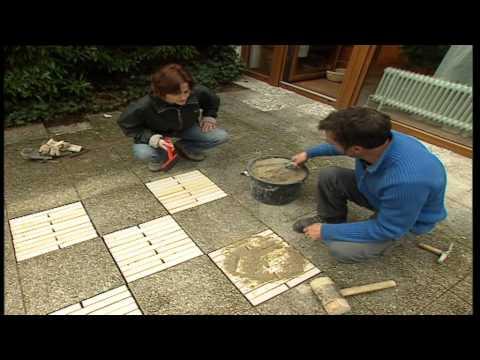 Bauanleitung, Terrassenbau, Ein Individueller Freisitz Aus Holz Und Kies