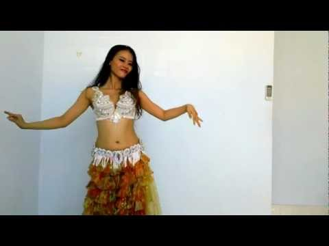 Belly Dance Ho Lan , Habibi Ya Einy video