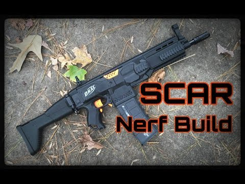 The SCAR Nerf Gun Build