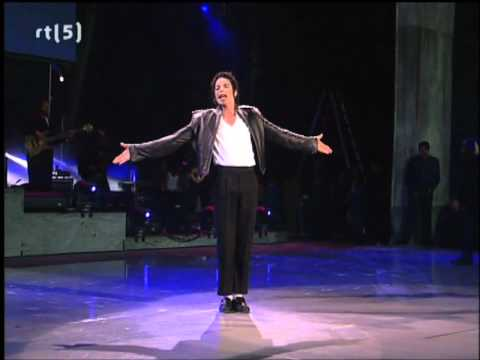 Michael Jackson History Tour- We Are The WorldHeal The World
