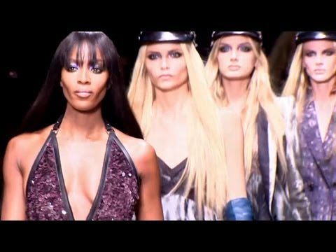 First Look - Naomi Campbell Closes Cavalli! Go Behind The Scenes at the Fall 2012 Show | FashionTV