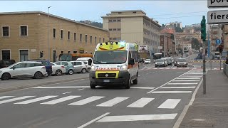Ambulanza Croce Verde Ancona in Emergenza / Italian Ambulance in Emergency