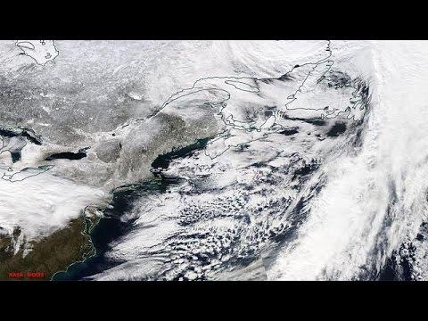 مدن شمال شرق الولايات المتحدة الأمريكية تستعد لمواجهة أعنف عاصفة ثلجية