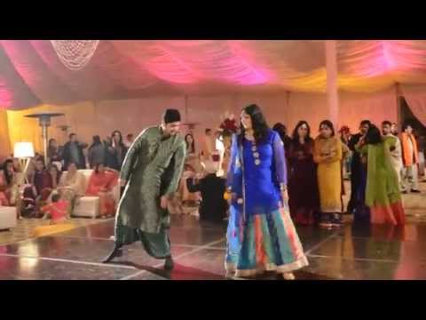 Pakistani Wedding Dance (my Husband And I) video