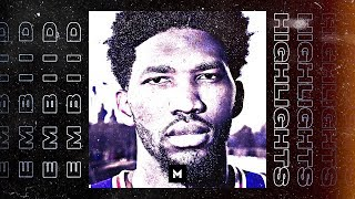 Joel Embiid BEST Highlights From 18-19 Season! MOST SKILLED BIG IN THE LEAGUE!