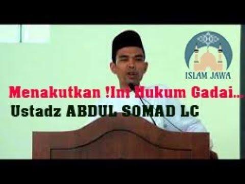 Hukum Gadai Sawah dan kebun Ustad Abdul Somad