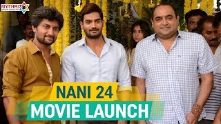 Nani 24 Movie Launch Nani Vikram Kumar Anirudh Ravichander Mythri Movie Makers