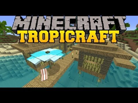 Minecraft Mod Showcase - Tropicraft Mod - Mod Review