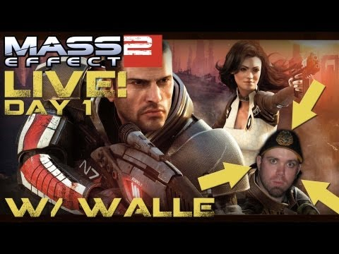 Mass Effect 2 Interactive Stream Play W/ WallE