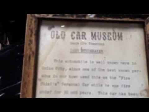 The old car museum at Dixie Gun Works.