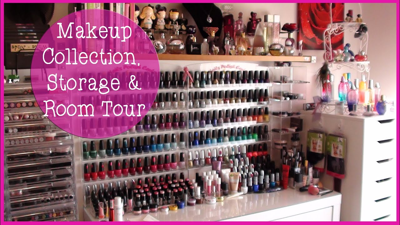 Makeup Amp Storage Collection Overview Room Tour 2012