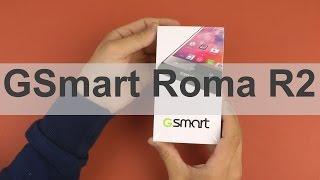 Распаковка Gigabyte Gsmart Roma R2 Plus