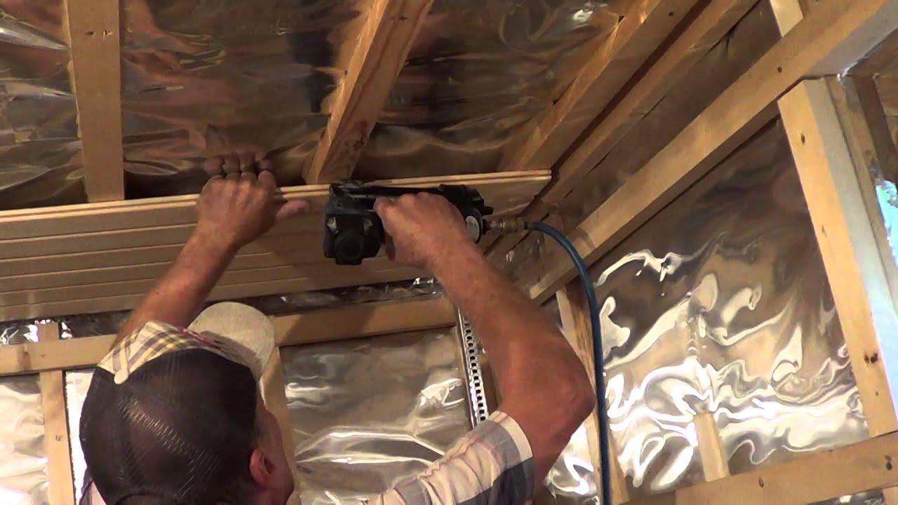 Отделка (обшивка) бани внутри вагонкой своими руками монтаж деревянной