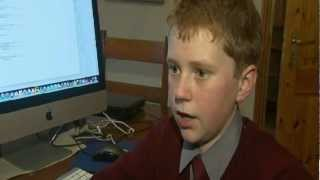 12-year-old boy setting the pace in computer programming