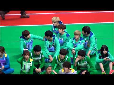 130128 - 130129 EXO @ MBC idol star olympic sports championship athletic recording 2013