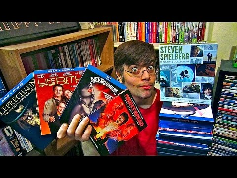 My Blu-Ray Collection Update 10/10/14 ( Blu ray and Dvd Movie Reviews )