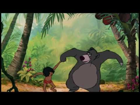 Disney - Le Livre De La Jungle Il En Faut Peu Pour Etre Heureux