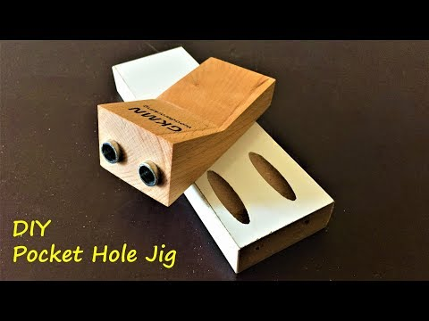 Making a Pocket Hole Jig under 5$ / Vida Yeri Açma Aparatı