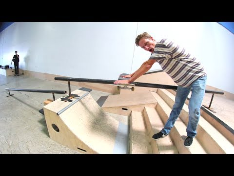 The Board Slide Of Death! / Warehouse Wednesday!