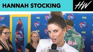 Hannah Stocking Fangirls Over BFF Lele Pons! | Hollywire