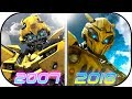 EVOLUTION of BUMBLEBEE in Transformer Movies (2007