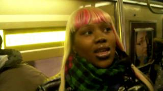 spicee on the A train in brooklyn already home