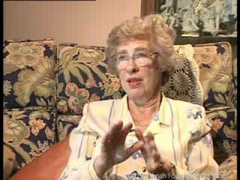 Jewish Survivor Eva Schloss Testimony Part 1