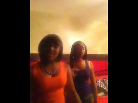 Two Girls Singing My Girl By Mindless Behavior video