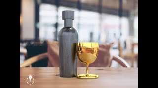 How to create and render 3D objects from scratch in Adobe Photoshop CC and Adobe Dimension CC