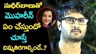Mehreen Pirzada Romance With Sudheer Babu | Sudheer Babu Latest News | Top Telugu Media