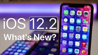iOS 12.2 is Out! - What's New?