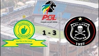 Pirates wallop Sundowns 3 - 1 at Loftus