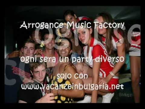 Arrogance Music Factory..la miglior discoteca di Golden Sands e Varna : apertura estate 2012