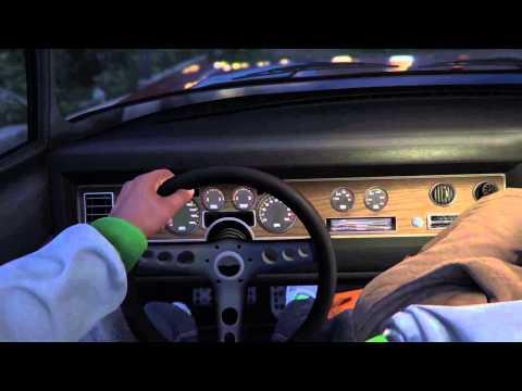 GTA V: Franklin picks up hooker (first person veiw)