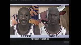 New York Knicks @ Chicago Bulls | 1996 NBA Playoffs | Eastern Conference Semifinals G5 (05-14-1996)