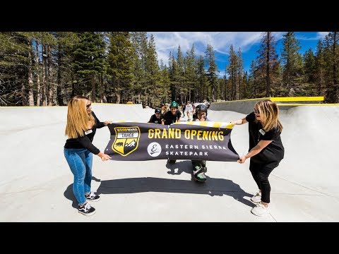 Eastern Sierra Skatepark Grand Opening - WoodWard Tahoe Tuesdays