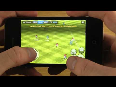 FIFA 14 iPhone 4S iOS 7 Final Public HD Gameplay Review