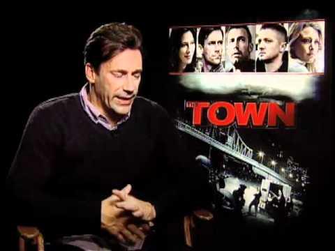 Jon Hamm  - The Town Interview At TIFF 2010
