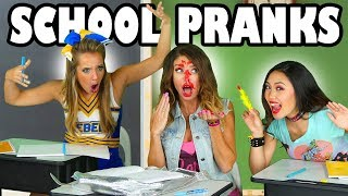 School Pranks 2017 with Pop Music High Funny  Moments. Totally TV
