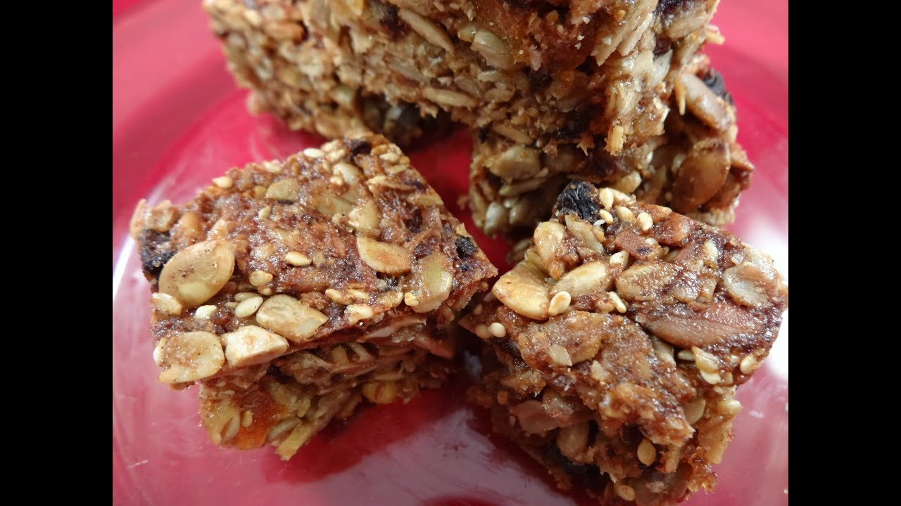 Chewy Nut Bars