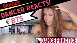Download Lagu 방탄소년단 'Danger' Dance Practice - DANCER REACTS! Gratis STAFABAND