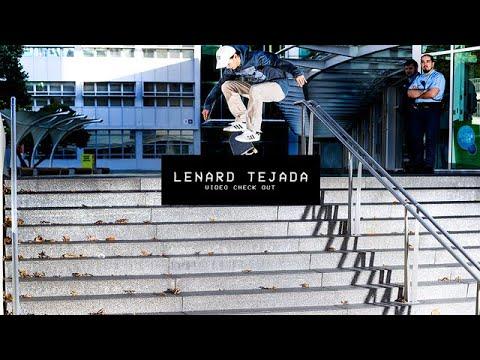 Video Check Out: Lenard Tejada   TransWorld SKATEboarding