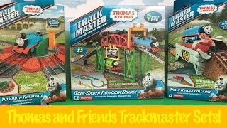 Thomas and Friends Unboxing Tidmouth Turntable, Over-Under Tidmouth Bridge, Brave Bridge Collapse