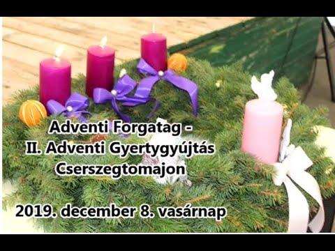 Adventi Forgatag az Alma együttessel Cserszegtomajon 2019.12.08.