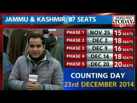 Voting underway in 2nd phase of polls in Jammu and Kashmir