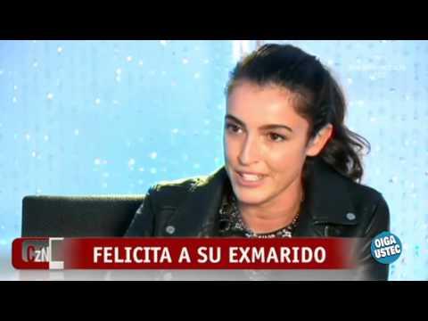 Blanca Romero felicita a su ex marido Cayetano Rivera aunque éste no invitó a su hija a su boda
