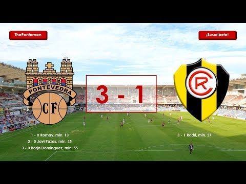 Pontevedra C.F. 3 - 1 Rápido de Bouzas