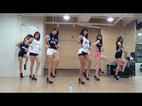 SISTAR 'Give It To Me' Mirrored Dance Practice