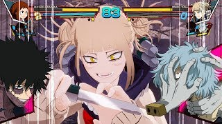 My Hero Academia: One's Justice - Uraraka Ochaco vs Toga Himiko Full Match Gameplay EXCLUSIVE!