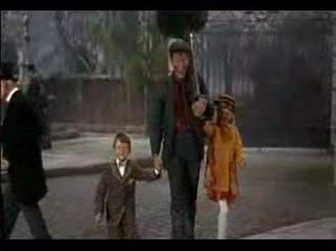 Chim Chim Cher-ee, extrait de Mary Poppins (1965)